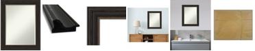 "Amanti Art Accent Framed Bathroom Vanity Wall Mirror, 23"" x 29"""