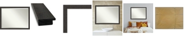 "Amanti Art Rustic Plank Framed Bathroom Vanity Wall Mirror, 43.25"" x 33.25"""