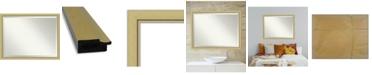 "Amanti Art Landon Gold-tone Framed Bathroom Vanity Wall Mirror, 43.38"" x 33.38"""