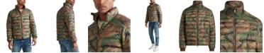 Polo Ralph Lauren Men's Big & Tall Camo Light Weight Down Jacket