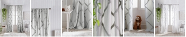 "Peri Home Chenille Lattice 50""x95"" Backtab Window Panel"