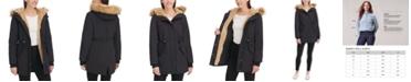 Levi's Women's Arctic Cloth Faux-Fur-Trim Parka