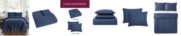 Pem America Jersey 3-Pc. Full/Queen Comforter Set