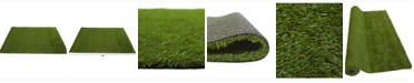 Nearly Natural 6ft. x 8ft. Artificial Professional Grass Turf Carpet UV Resistant Indoor/Outdoor