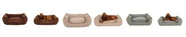 Carolina Pet Company Orthopedic Microfiber Low Profile Kuddle Lounge