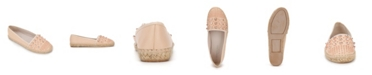 Kenneth Cole New York Women's Brigid Stud Espadrille Flats