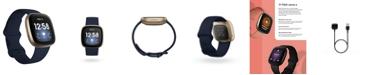 Fitbit Versa 3 Midnight Blue Strap Smart Watch 39mm