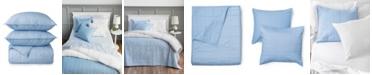 Martha Stewart Collection Brynn Texture King Quilt, Set of 3