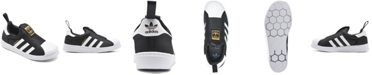 adidas Little Kids Superstar 360 Slip-On Casual Sneakers from Finish Line