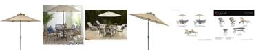 Furniture Park Gate Outdoor 9' Auto-Tilt Umbrella, Created for Macy's