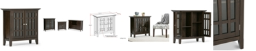 Simpli Home Westminster Low Storage Cabinet