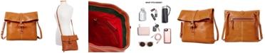 Dooney & Bourke Florentine Leather Toggle Crossbody Bag
