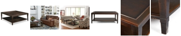 Furniture CLOSEOUT! Bastille Table, Square Coffee Table