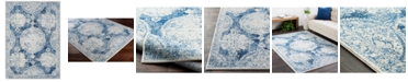 Surya Harput HAP-1039 Dark Blue 2' x 3' Area Rug