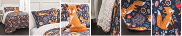 Lush Decor Pixie Fox 4-Pc. Full/Queen Quilt Set