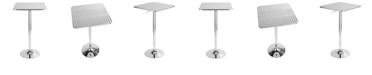 Lumisource Bistro Adjustable Square Bar Table