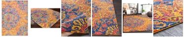 "Surya Elaziz ELZ-2318 Bright Orange 5'3"" x 7'6"" Area Rug"
