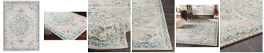 "Abbie & Allie Rugs Morocco MRC-2321 Light Gray 7'10"" x 10'3"" Area Rug"