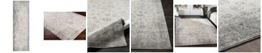 "Surya Presidential PDT-2310 Medium Gray 3'3"" x 10' Runner Area Rug"