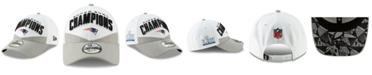 New Era New England Patriots Super Bowl LIII Champ Locker Room 9FORTY Snapback Cap