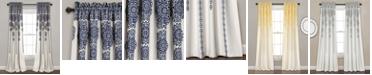 "Lush Decor Medallion Stripe 52"" x 84"" Curtain Set"