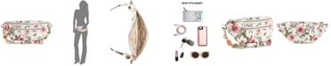 GUESS Detail Floral Belt Bag