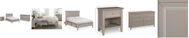 Furniture Sanibel Storage Bedroom Furniture, 3-Pc. Set (Full Bed, Nightstand, and Dresser), Created for Macy's