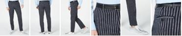 INC International Concepts I.N.C. Men's Slim Stripe Pants, Created for Macy's