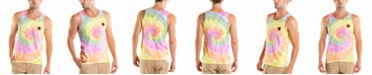 Original Paperbacks South Sea American Flag Tie Dye Crewneck Tank