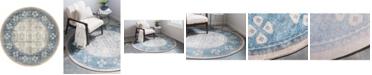 Bridgeport Home Bellmere Bel1 Beige 5' x 5' Round Area Rug