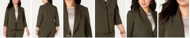 Kasper  Plus Size Turn-Key Blazer