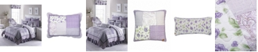 American Heritage Textiles Lavender Rose Cotton Quilt Collection