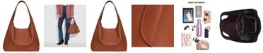 COACH Polished Pebble Leather Hadley Hobo