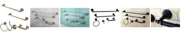 Kingston Brass Naples 18-Inch and 24-Inch Towel Bar Bathroom Accessory Set