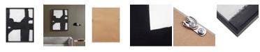 Martha Stewart Collection Martha Stewart Directional Ebony Framed Canvas
