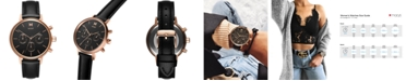MVMT Women's Nova Vela Black Leather Strap Watch 38mm