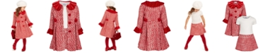 Blueberi Boulevard Toddler Girls 2-Pc. Tweed Coat & Dress Set