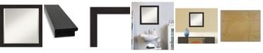 "Amanti Art Furniture Framed Bathroom Vanity Wall Mirror, 23.5"" x 23.50"""