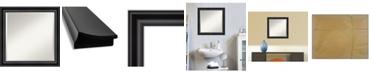 "Amanti Art Grand Framed Bathroom Vanity Wall Mirror, 23.88"" x 23.88"""