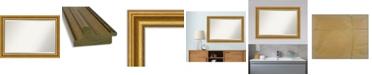 "Amanti Art Parlor Gold-tone Framed Bathroom Vanity Wall Mirror, 41.62"" x 29.62"""