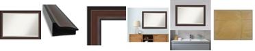 """Amanti Art Harvard Framed Bathroom Vanity Wall Mirror, 40.5"""" x 28.50"""""""