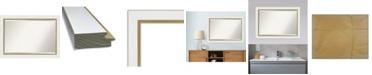 "Amanti Art Eva Gold-tone Framed Bathroom Vanity Wall Mirror, 41.25"" x 29.25"""