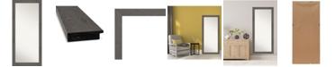 "Amanti Art Rustic Plank Framed Floor/Leaner Full Length Mirror, 29.38"" x 65.38"""