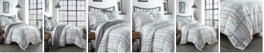 City Scene Atlas Plaid King Comforter Set