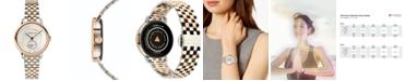 Teslar Women's Swiss Re-Balance T-1 Two-Tone Stainless Steel Bracelet Watch 36mm