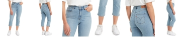 Levi's Cropped Mid-Rise Jeans
