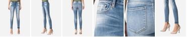 VERVET Mid Rise Skinny Ankle Jeans