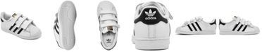 adidas Superstar Toddler Stay-Put Casual Sneakers from Finish Line