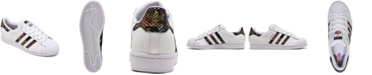 adidas Women's Originals Superstar Snake Casual Sneakers from Finish Line