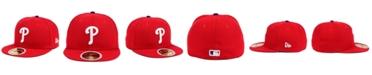 New Era Kids' Philadelphia Phillies Authentic Collection 59FIFTY Cap